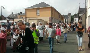 Parade de la Mairie a         l'etang